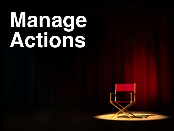 Manage Actions