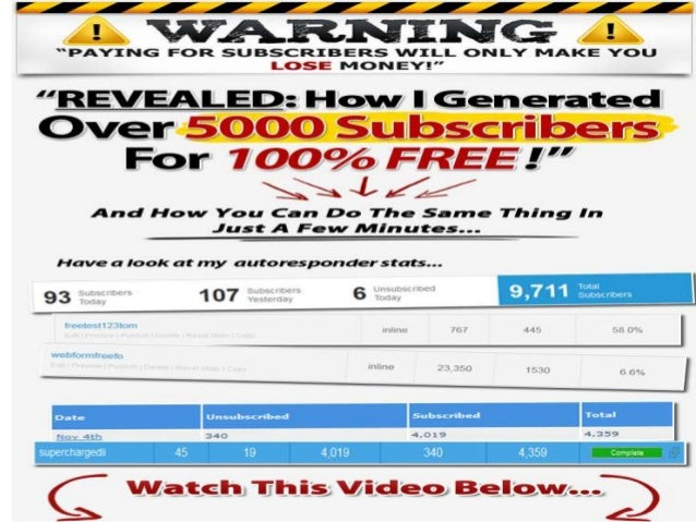 how to get 5000 subscribers on youtube