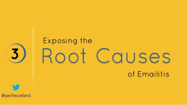 @perfexcellent Root Causes3 Exposing the of Emailitis