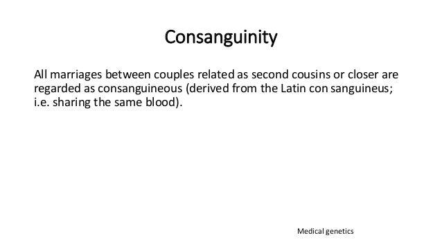 Inbreeding and congenital heart disease Slide 2