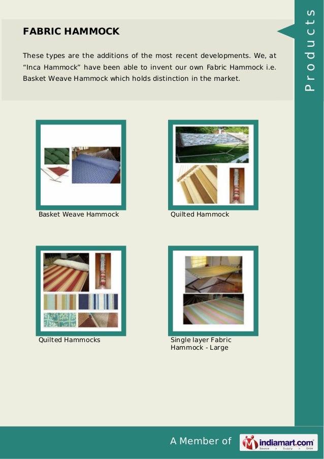 hammock   40l2c products  4  inca hammock m f g export pvt ltd  rh   slideshare