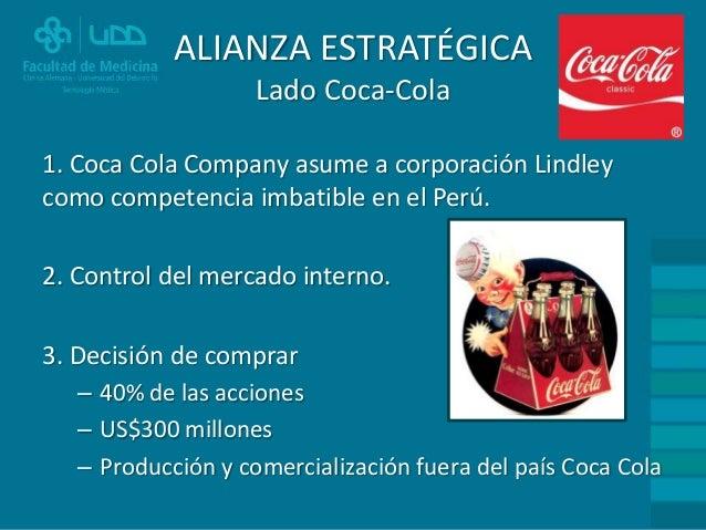 Alianzas estrategicas de coca cola