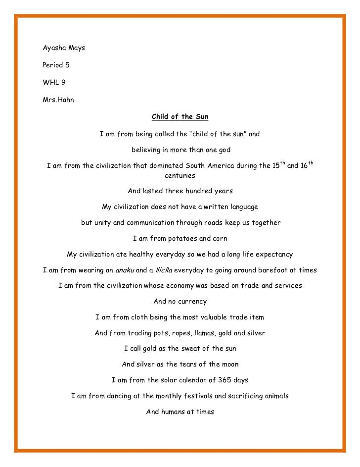 5 am poem