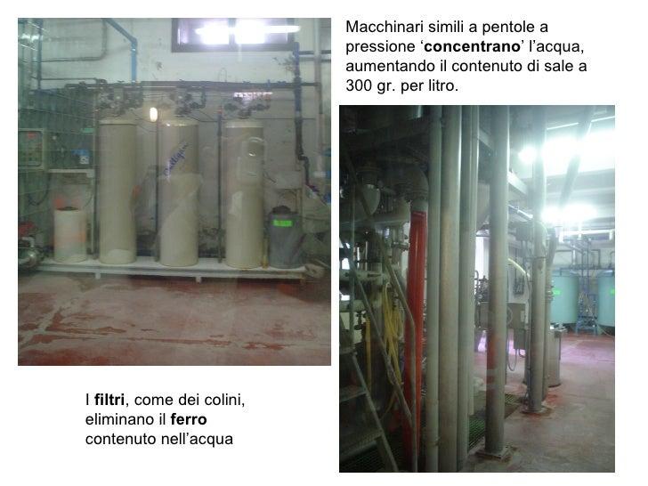 I  filtri , come dei colini, eliminano il  ferro  contenuto nell'acqua Macchinari simili a pentole a pressione ' concentra...