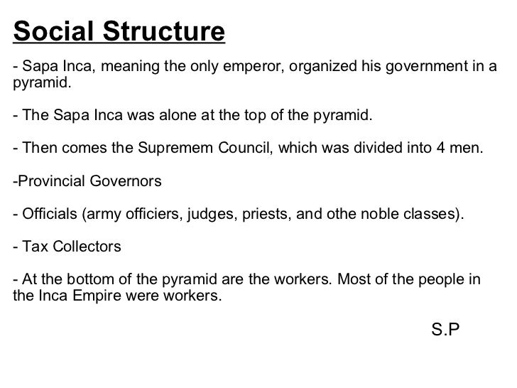 inca social structure in english - photo #31