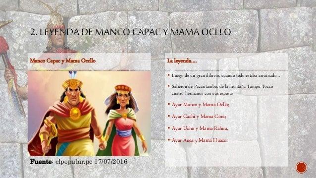 Leyendas Del Imperio Incaico Hermanos Ayar Manco Cpac 638 Cb Leyenda Los Historia