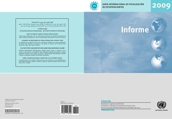 Incb 2009 Report Esp