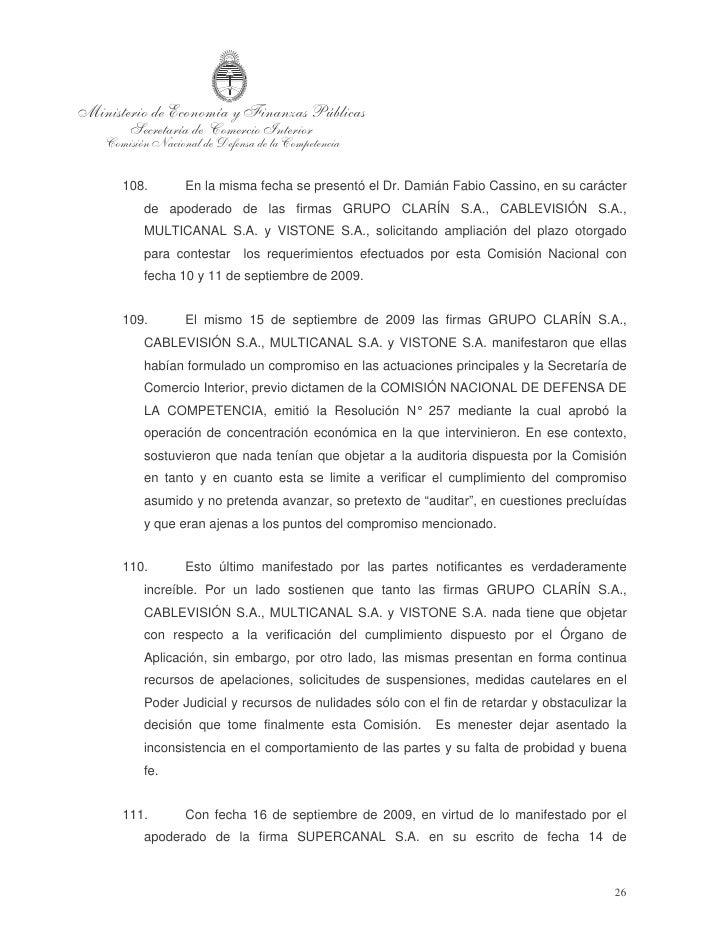 septiembre de 2009 se fijó una nueva audiencia testimonial Asimismo, atento la    incomparecencia del representante de la ...