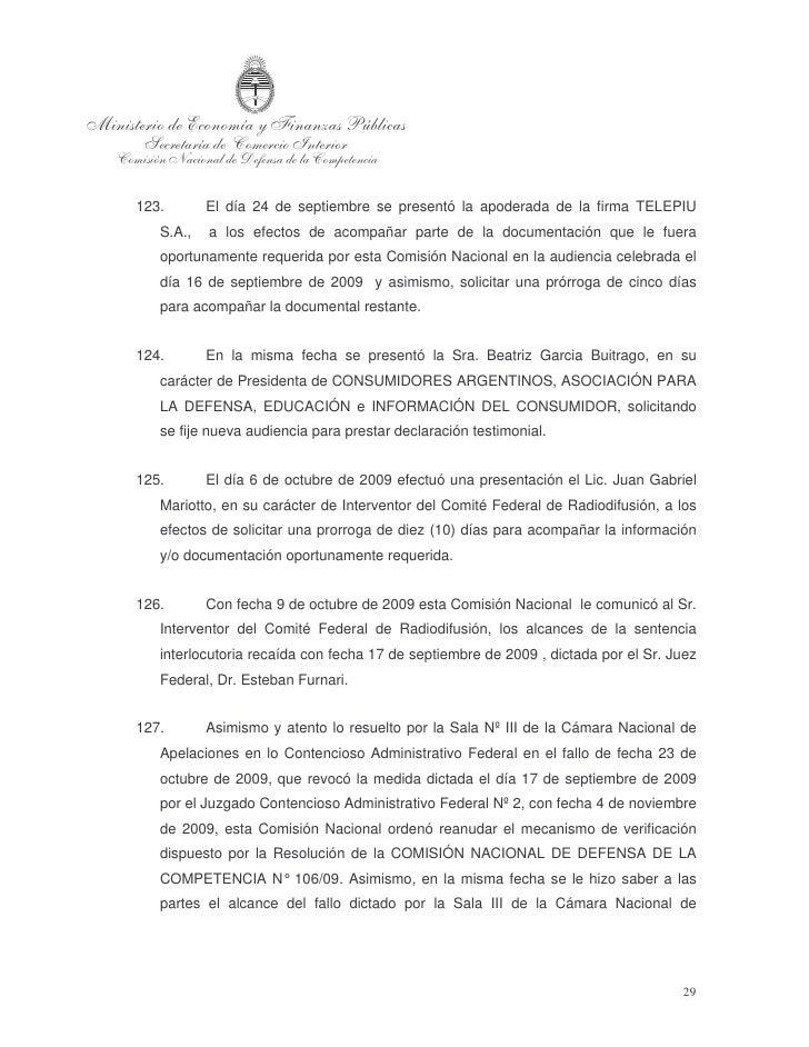 Apelaciones en lo Contencioso Administrativo Federal de la Ciudad de Buenos    Aires.   128.        El día 16 de noviembre...