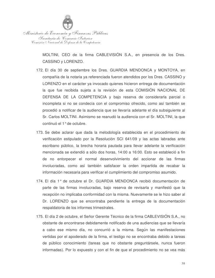 dilatado se procedió a tomar audiencia al Sr. Antonio ÁLVAREZ, Gerente de    Programación de la empresa. En esa misma fech...