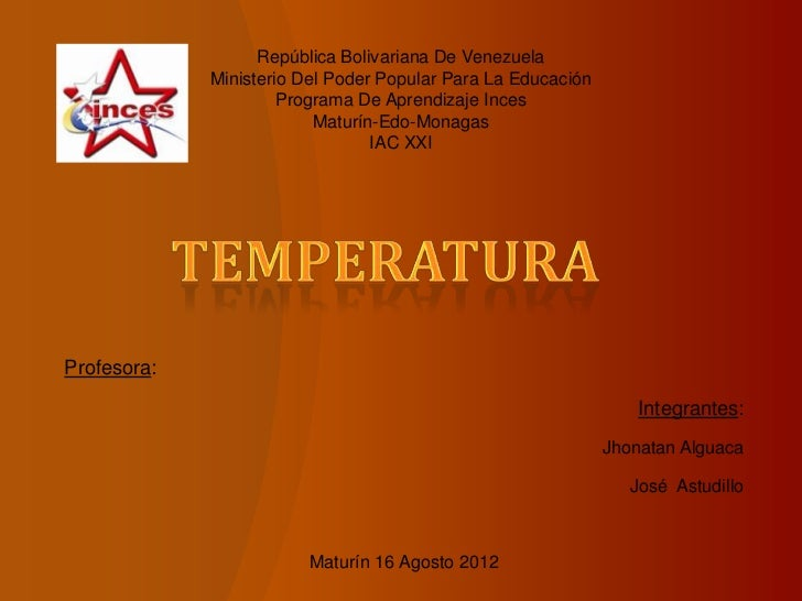 República Bolivariana De Venezuela             Ministerio Del Poder Popular Para La Educación                      Program...