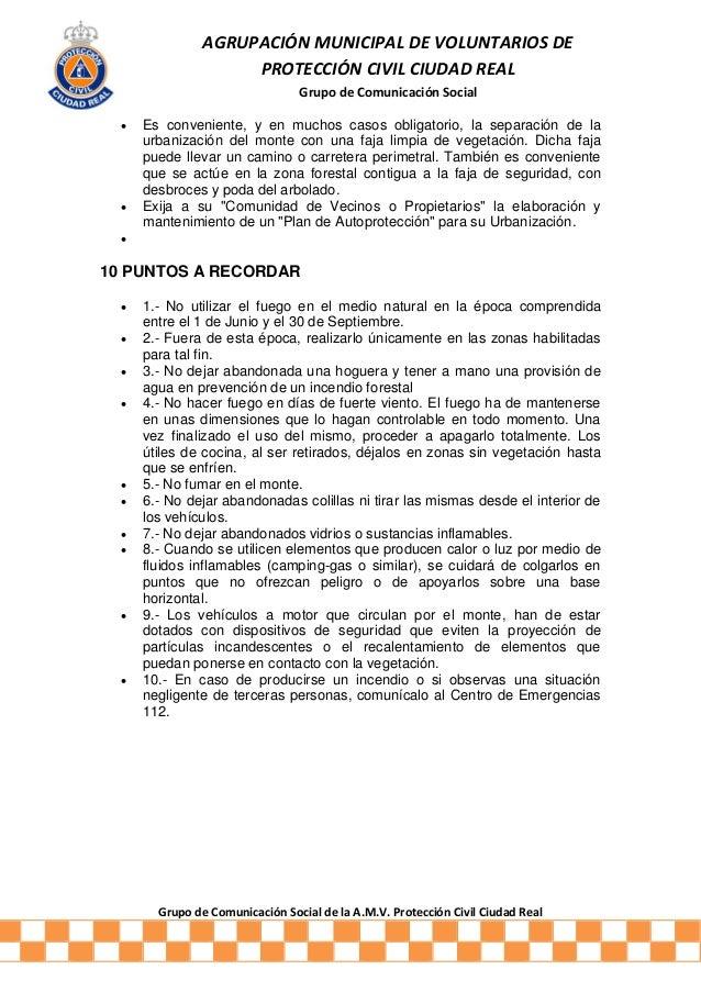 Recomendaciones de autoprotecci n ante incendios forestales - Matachispas para chimeneas ...