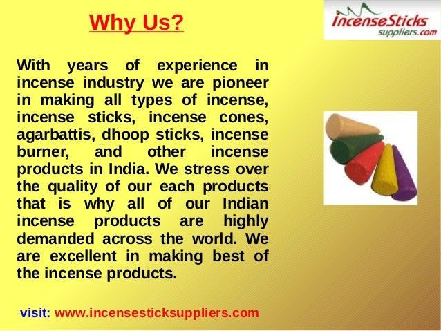Incense Products - Incense Sticks,Agarbatti,Dhoopbatti,Incense Cones Slide 3