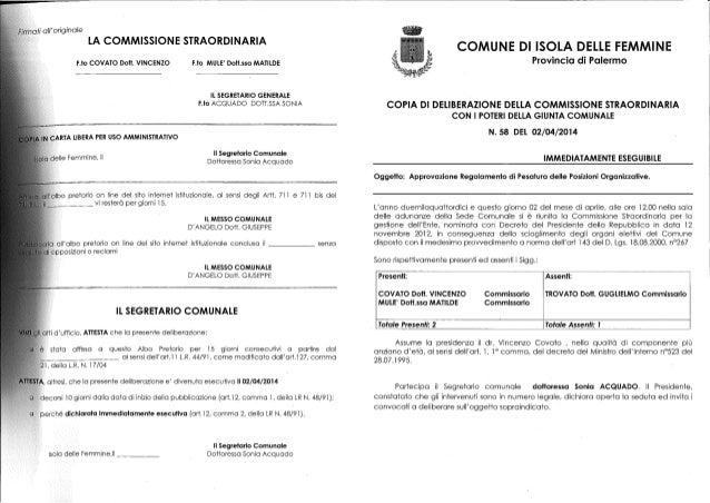 Incentivazione capi settore delib giunta n 58 201404281110