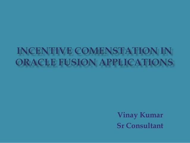 Vinay Kumar Sr Consultant