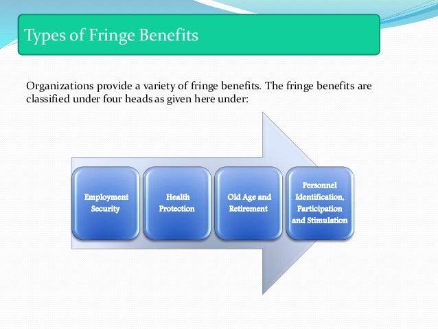 types of fringe benefits pdf