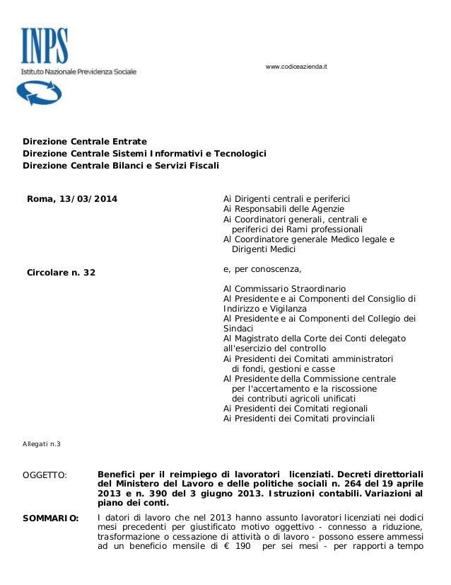 Direzione Centrale Entrate Direzione Centrale Sistemi Informativi e Tecnologici Direzione Centrale Bilanci e Servizi Fisca...