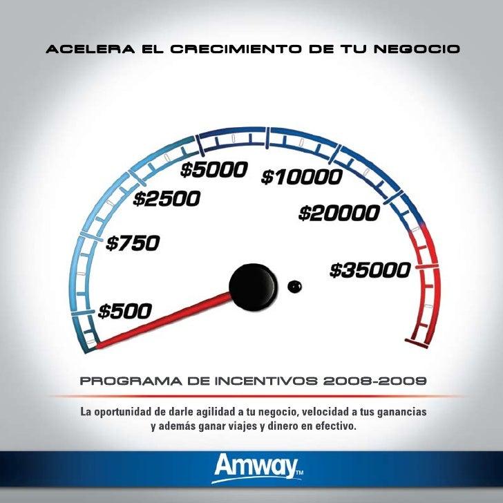 AMWAY AMÉRICA LATINA                              Contenido                            Enciende Motores. Programa de Activ...