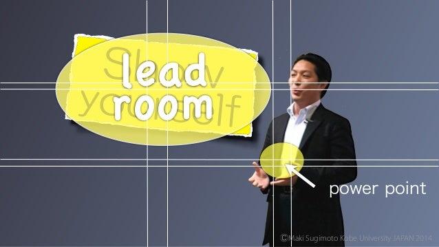 power point lead ! room ⒸMaki Sugimoto Kobe University JAPAN 2014