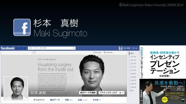 杉本真樹【インセンティブプレゼンテーション】 Incentive Presentation by Maki Sugimoto MD. August 2014