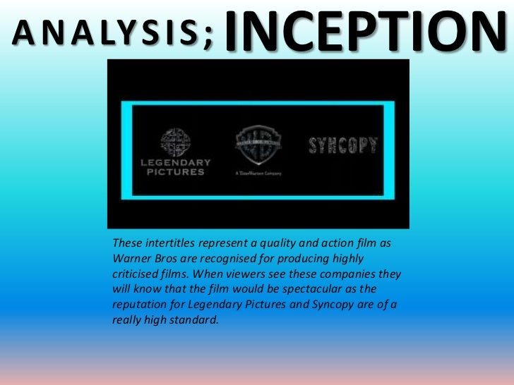 overview and analysis of inception What follows is an analysis and explanation of the plot of inception based on two viewings,  this is a summary of a conversation between two characters in deb .