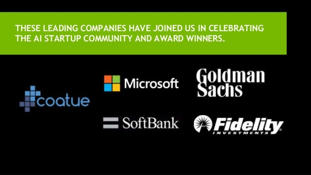 THESE LEADING COMPANIES HAVE JOINED US IN CELEBRATING THE AI STARTUP COMMUNITY AND AWARD WINNERS.