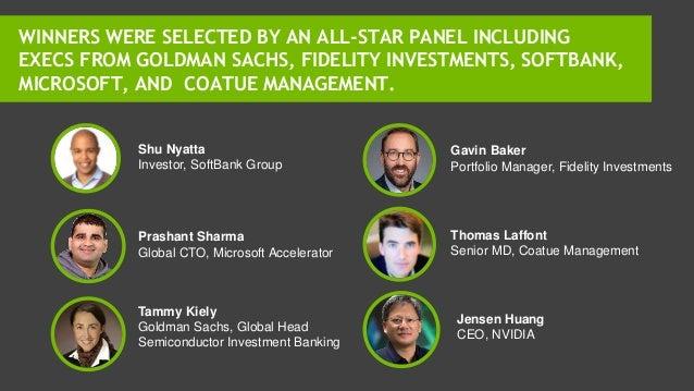 Shu Nyatta Investor, SoftBank Group Prashant Sharma Global CTO, Microsoft Accelerator Tammy Kiely Goldman Sachs, Global He...