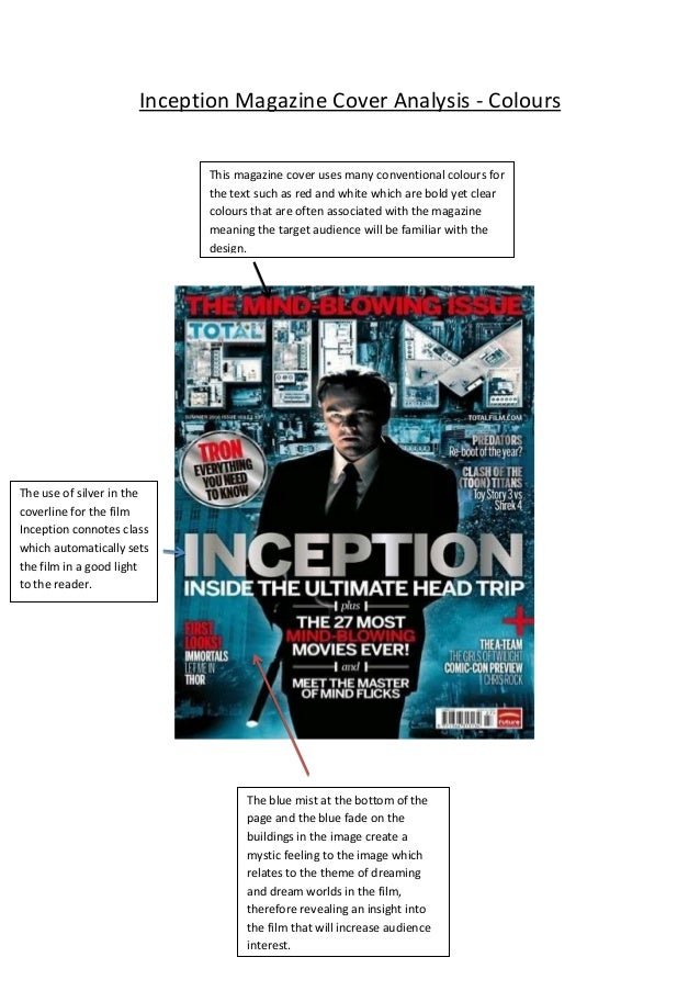 inception film analysis An analysis of the nature of reality and dreams in the film.