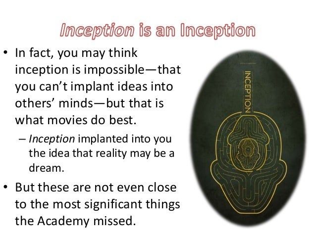 Anal object inception