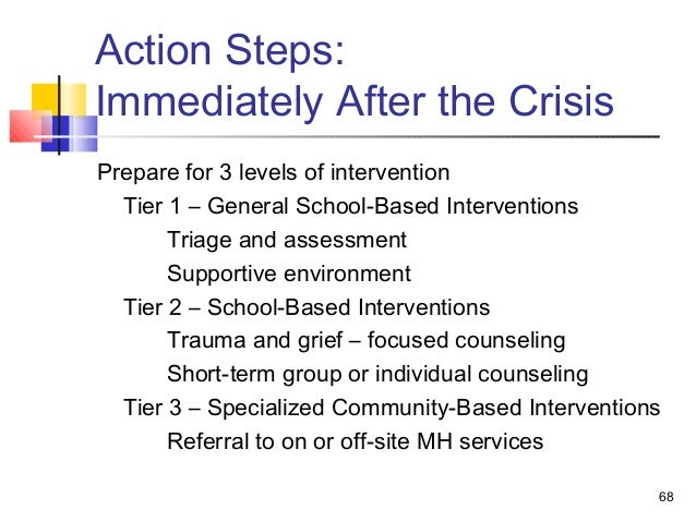 limitations of crisis intervention -pfa is an early intervention in the immediate aftermath of post trauma period \⠀ ⴀ㐀㠀栀爀猀尩 and its objective is ethical issues in crisis response.