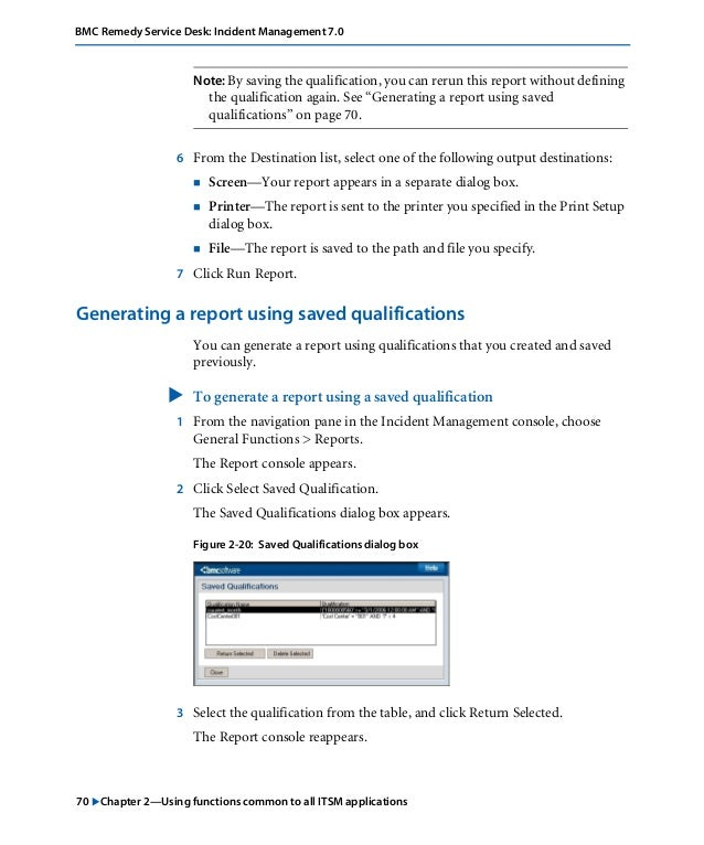 incident user guide 700 remidy rh slideshare net Software User Guide Example User Guide