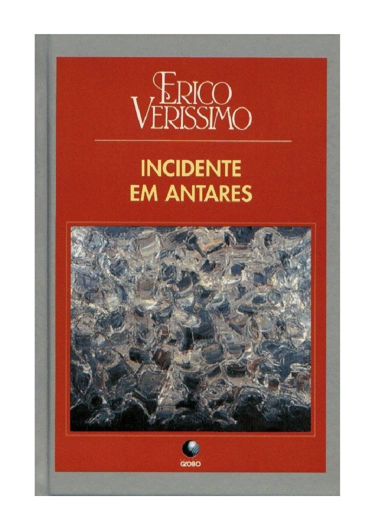 ERICO VERÍSSIMOINCIDENTE EM  ANTARES        2