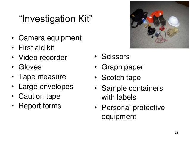incident investigation asse 2014