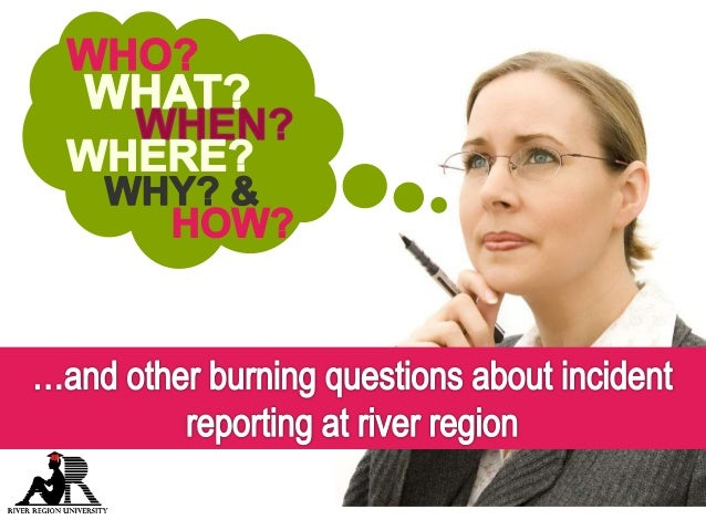 river region human services incident reporting process
