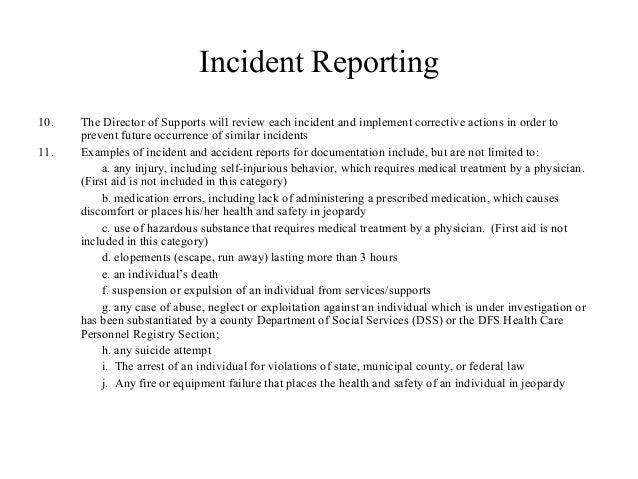 Incident report example idealstalist incident report example spiritdancerdesigns Choice Image