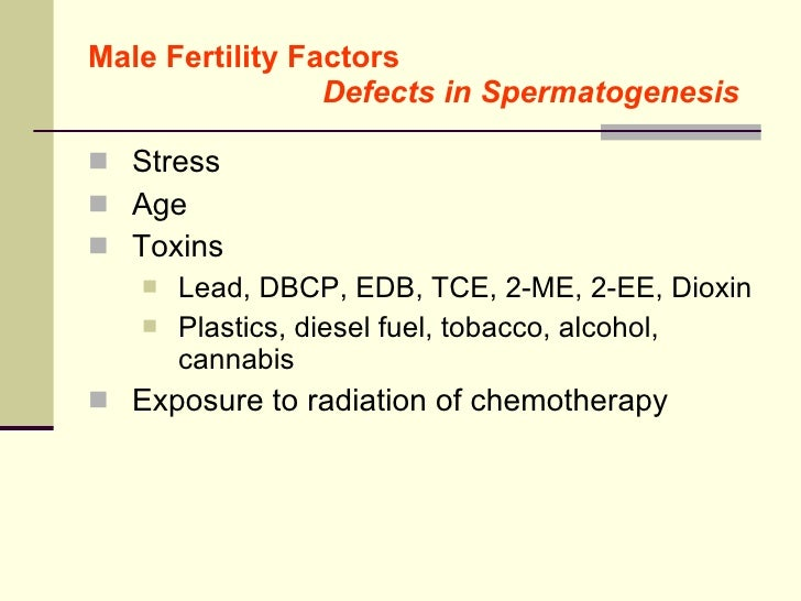 male fertility overview estrogen like industrial chemicals in water 24