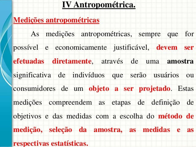 Medida antropométrica dinâmica