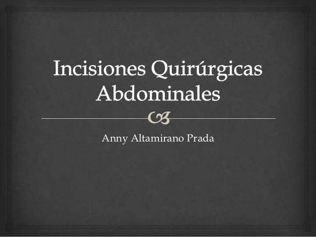 Anny Altamirano Prada
