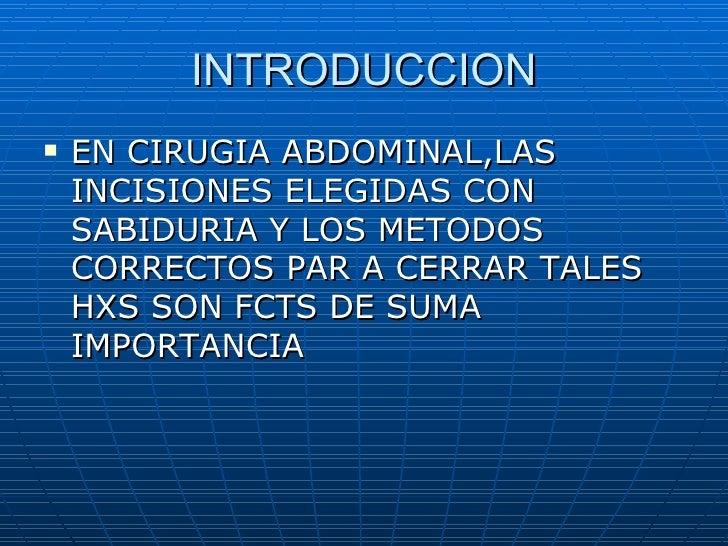 Incisiones quirurgicas Slide 2