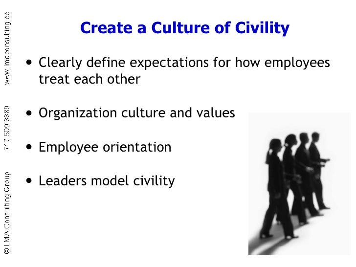 recognizing civility versus incivility Learn how to foster workplace civility in a time of disrespect watch this webinar to uncover the causes, costs, and cures for workplace incivility.