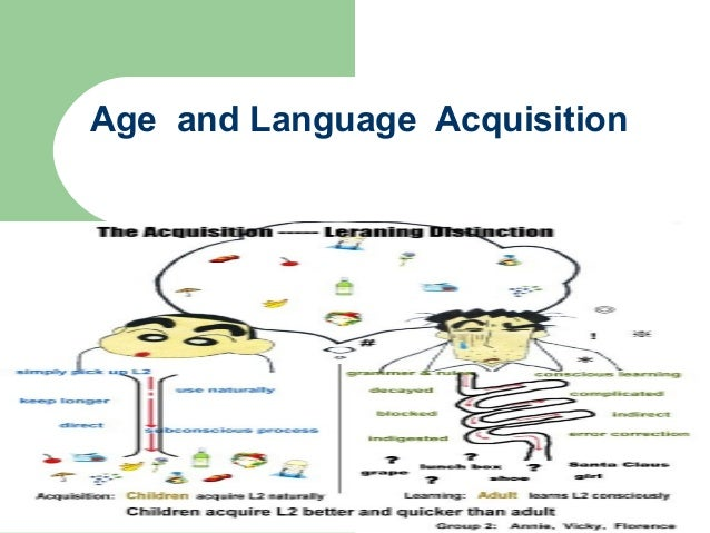 Age and Language Acquisition