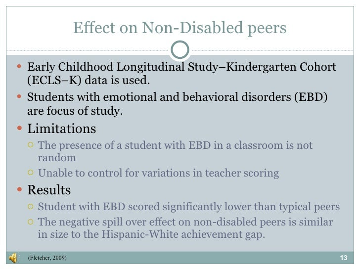 Classroom Design For Students With Emotional And Behavioral Disorders : Inclusion pros cons