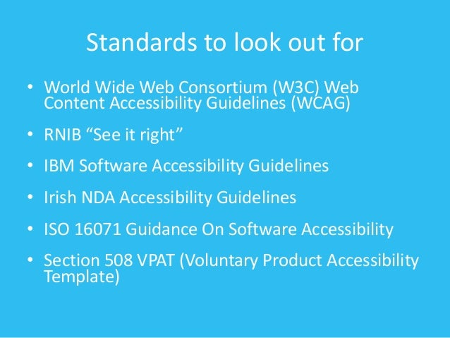 voluntary product accessibility template section 508 - inclusion and procurement