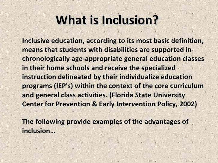 inclusionary
