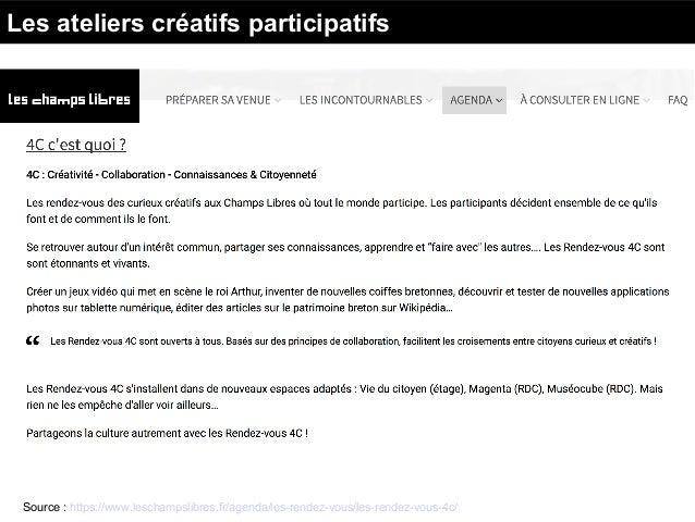 Créer, Documenter, Partager Bibliothèque et fablab