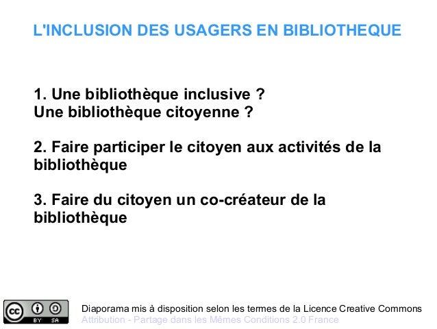 Diaporama mis à disposition selon les termes de la Licence Creative Commons Attribution - Partage dans les Mêmes Condition...