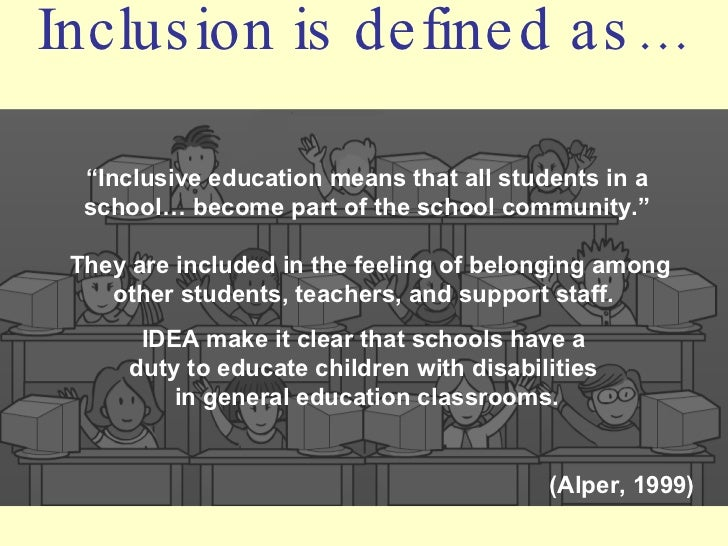 pros and cons of inclusive education Hoagies' gifted education page eric: inclusion pros and cons.