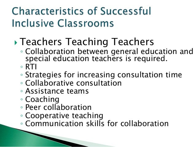 Collaborative Teaching Strategies Inclusion Classroom ~ Inclusion what is it
