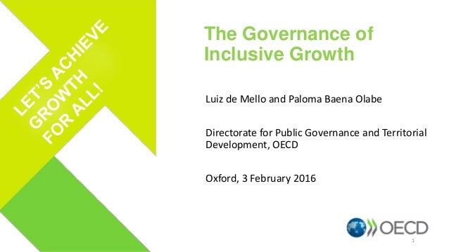 Luiz de Mello and Paloma Baena Olabe Directorate for Public Governance and Territorial Development, OECD Oxford, 3 Februar...