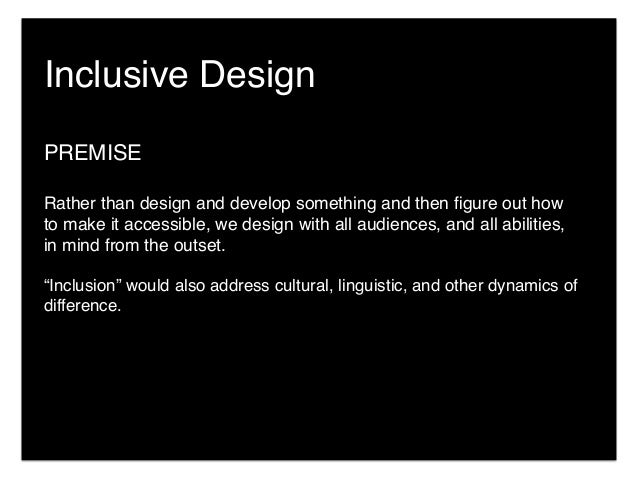 InclusiveDesignPractices:StrategiesandSkillsforMuseumPractitioner Slide 3